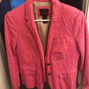 Pink J Crew Blazer (worn once)